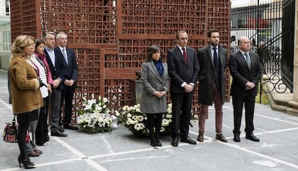 El PP en el País Vasco celebra su propio acto por el Día de la Memoria