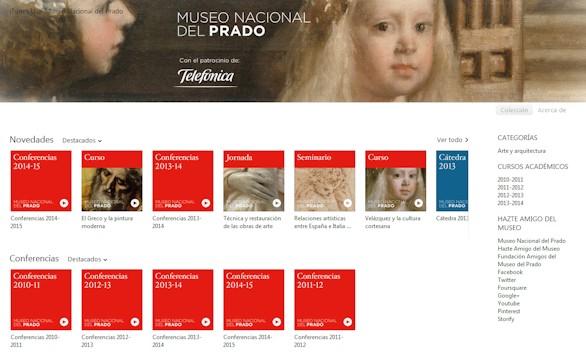 Contenidos del Prado en la plataforma iTunes U. Foto: Museo del Prado