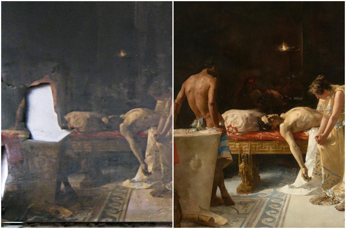El Prado recupera una obra del siglo XIX en