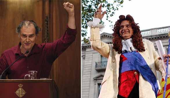 Las dos Cataluñas de La Mercè: los independentistas se montan un pregón alternativo