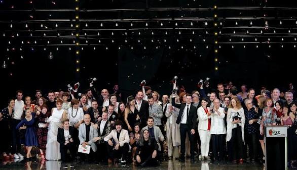 La danza se encumbra en los Premios Max con Oksara y Caída del cielo