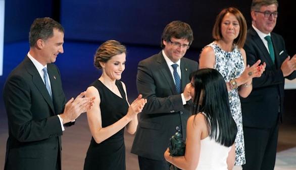 Felipe VI defiende en Cataluña una sociedad sin enfrentamiento
