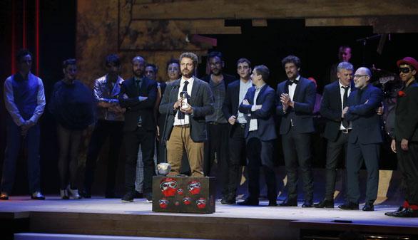'Pinoxxio' y 'La piedra oscura' arrasan en los premios Max de teatro