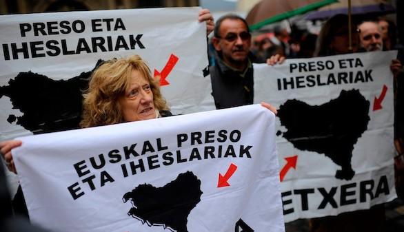 La AN rechaza acercar a los presos etarras a cárceles del País Vasco