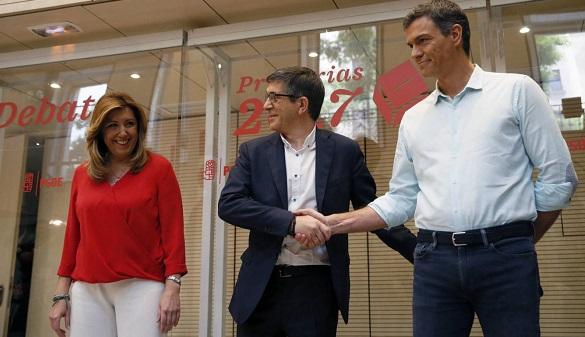El PSOE hace piña con Pedro Sánchez por apoyar el 155