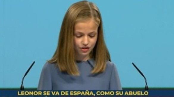 TVE cesa a los responsables de rotular 'Leonor se va de España, como su abuelo'