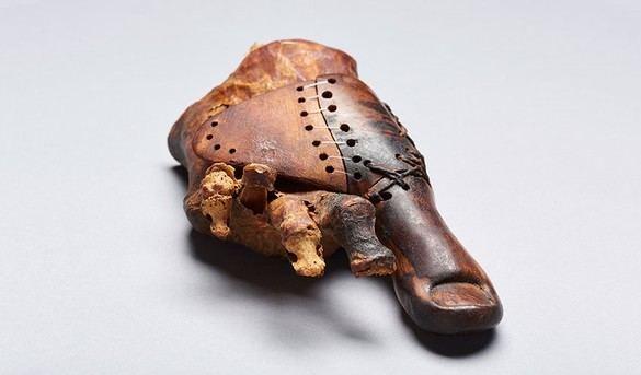 Hallada en Egipto una prótesis de un dedo del pie de hace 3.000 años