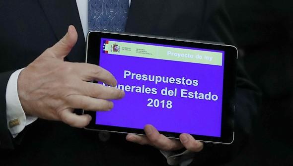 Las partidas presupuestarias de cada ministerio para 2018