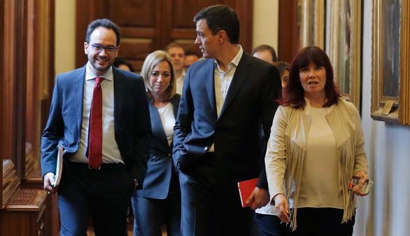 El PSOE no negociará con Podemos el pacto propuesto en su consulta