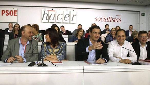 Polémica interna en el PSOE ante el riesgo de nuevas elecciones