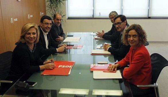 Acuerdo entre PSOE y PSC para