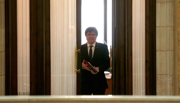 Puigdemont, escéptico pero optimista para reunirse con Rajoy