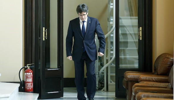 Puigdemont se someterá a una cuestión de confianza tras el veto de la CUP