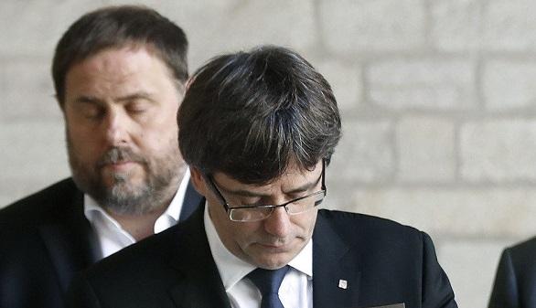 Puigdemont, a Forn y Junqueras:
