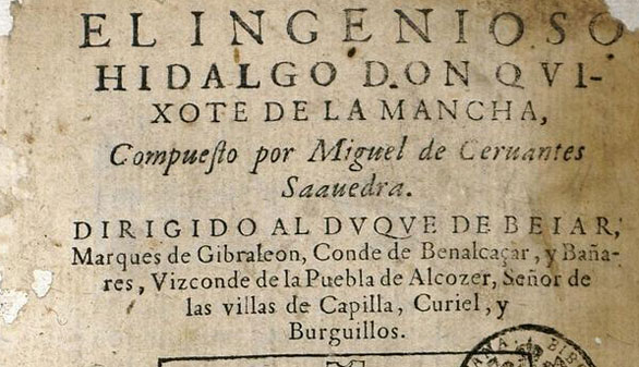 El Quijote celebra su cuarto centenario manuscrito y en 67 idiomas