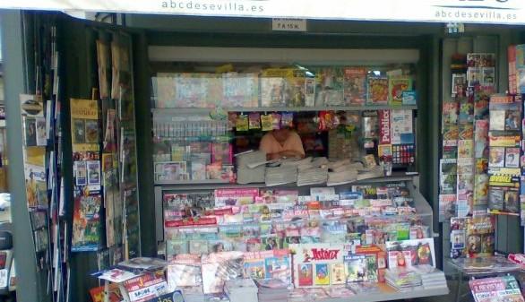 Los distribuidores garantizan la llegada de periódicos y revistas a los quioscos