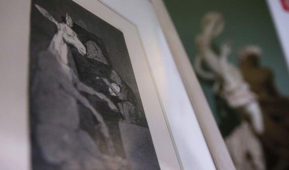 Detalle del grabado de Goya de una edición de 1970 que podrá adquirirse en exclusiva en eBay