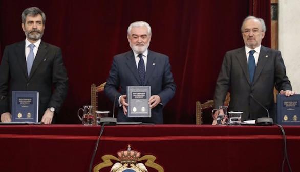 La RAE y el CGPJ presentan el 'Diccionario del español jurídico'