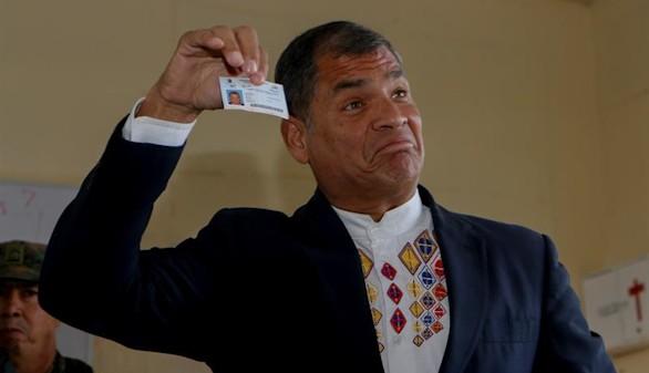 Los primeros resultados de Ecuador dan la victoria a Lenín Moreno