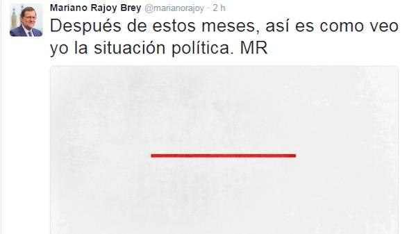 Mariano Rajoy pide abandonar las líneas rojas e ir