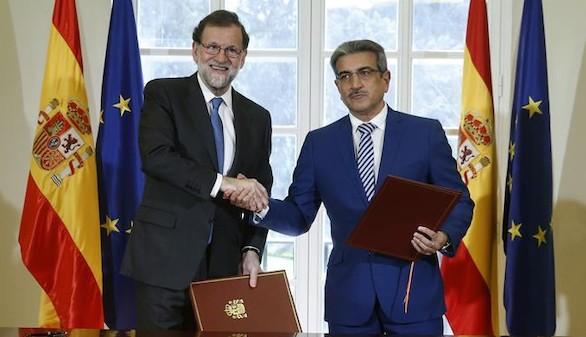 Nueva Canarias firma el pacto de apoyo a los PGE del Gobierno