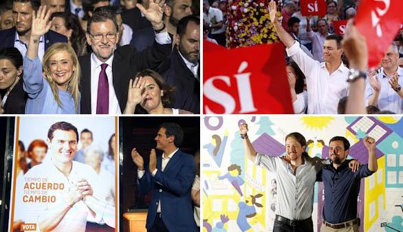 La estrategia de los partidos para ganar las elecciones