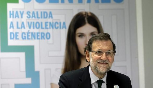 Rajoy presenta una campaña contra la violencia de género