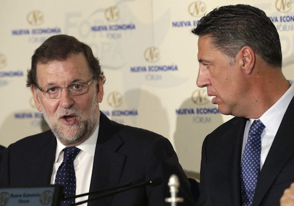 Rajoy, a Mas: