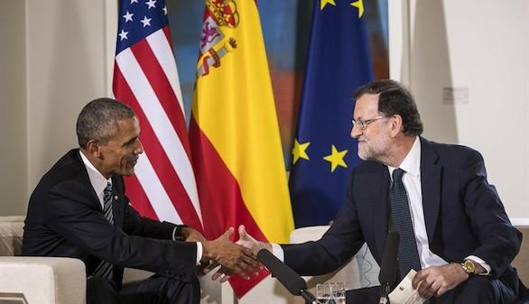 Obama felicita a Rajoy por los avances económicos