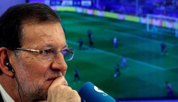 Rajoy se destapa como tertuliano deportivo en la Cope
