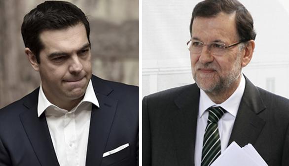 Rajoy coincide hoy por primera vez con Tsipras tras sus críticas a España