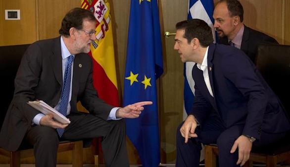 Rajoy y Tsipras se reúnen con motivo de la cumbre mediterránea