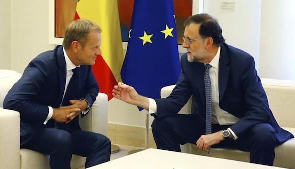 Rajoy analiza con Tusk la cumbre de Bratislava sobre el futuro de la UE