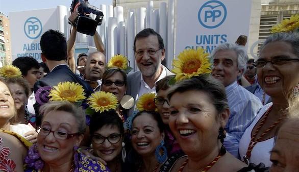Rajoy llama a votar a