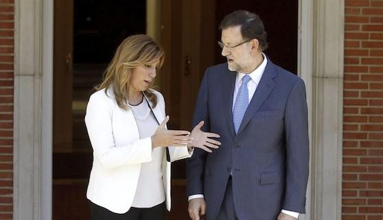 Rajoy y Susana Díaz hacen buena pareja