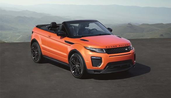 Range Rover Evoque Convertible, el primer SUV descapotable en España
