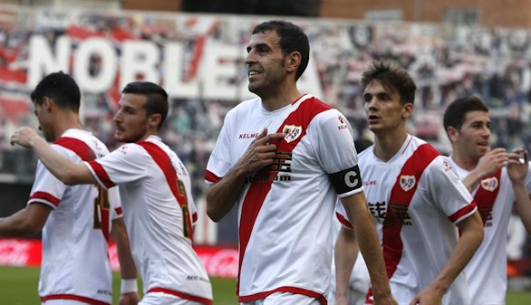 El Rayo Vallecano gana al Levante pero llora su descenso  3-1