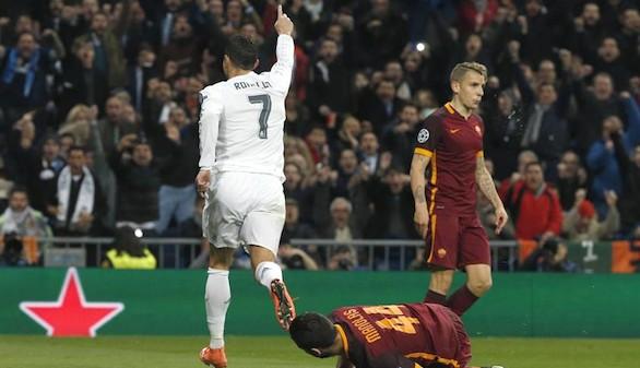 El Real Madrid llega a cuartos tras superar a una inofensiva Roma |2-0