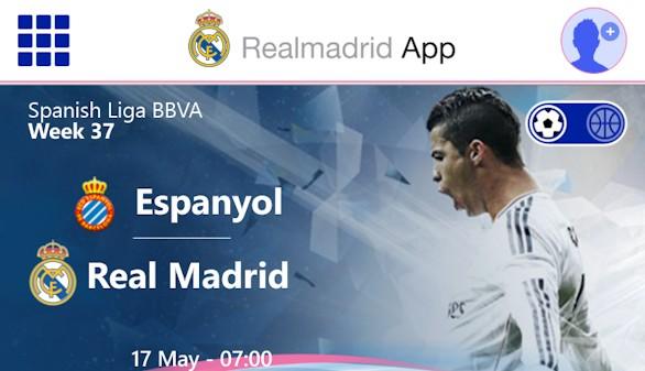Real Madrid y Microsoft se unen para crear Real Madrid App