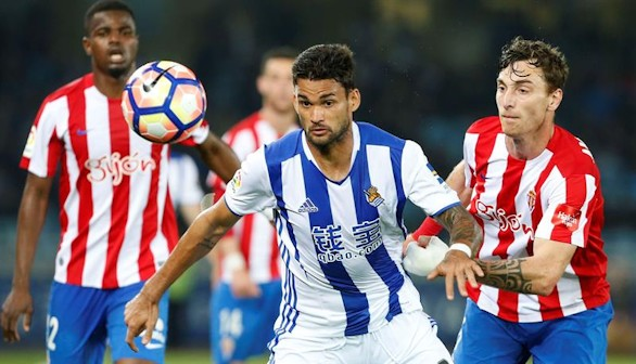La Real recupera brío ante un alicaído Sporting |3-1