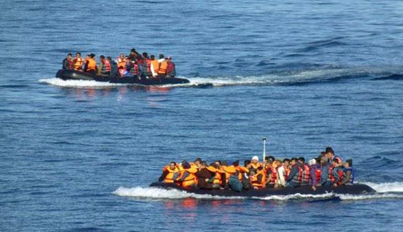 Al menos 41 refugiados mueren en el mar Egeo