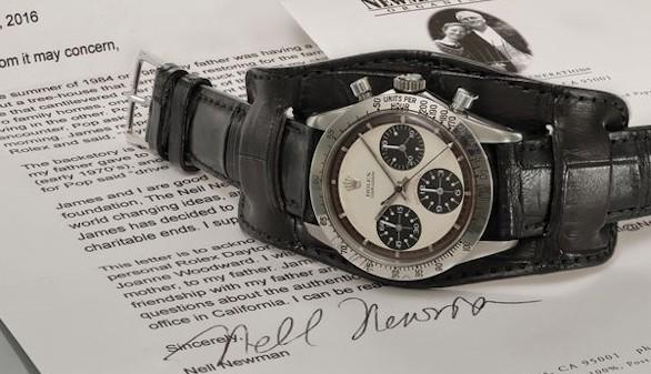 Un reloj de Paul Newman alcanza los 17,8 millones de dólares en una subasta