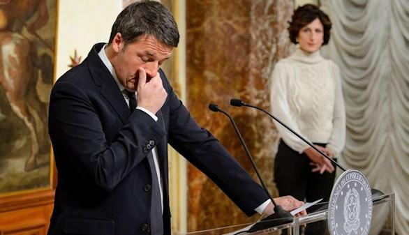 Renzi dimitirá este lunes tras el