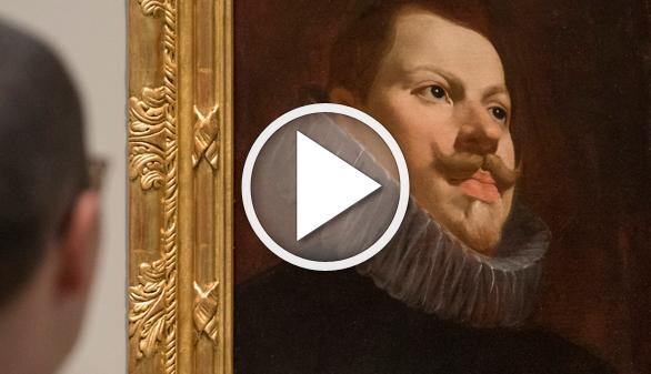 Retrato de Felipe III, uno de los pocos bocetos de Velázquez, ahora en el Prado