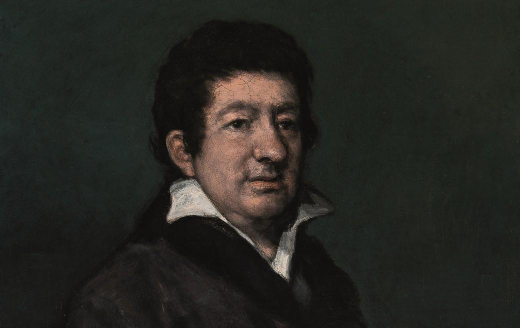 Retrato del poeta Moratín viaja de Bilbao a la Real Academia de San Fernando