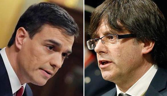 Sánchez y Puigdemont se reunirán este martes por primera vez