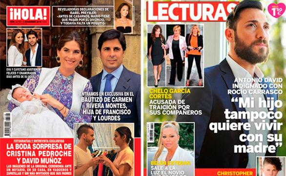 Cristina Pedroche y David Muñoz se casan en el vestidor