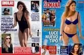 Penélope Cruz vs Chabelita, duelo de tipos en la playa
