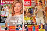 La Reina, de noche por Madrid, y Terelu Campos, de nuevo soltera