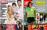Crónica Rosa: Shakira luce embarazo con Piqué y Milan